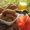 Salba® Banana Nut Mini-Muffins
