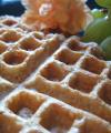 Crispy Bean-N-Oat Waffles